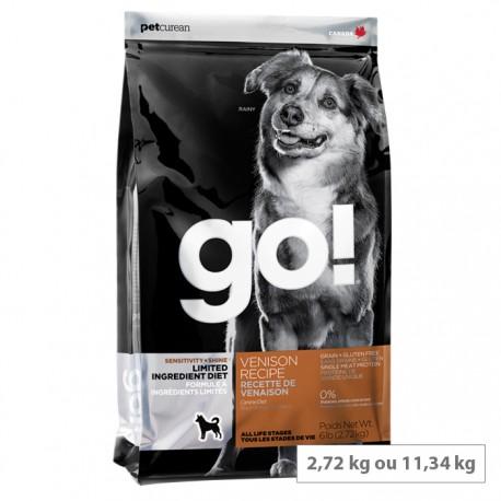 Croquettes Go chien Gibier Sans Céréales