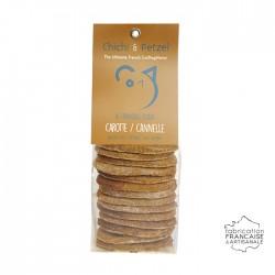Friandises chien chat - carotte cannelle - biscuits naturels sans gluten