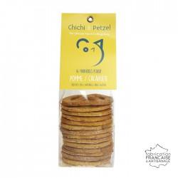 Friandises chien chat - pomme cacahuete - biscuits naturels sans gluten