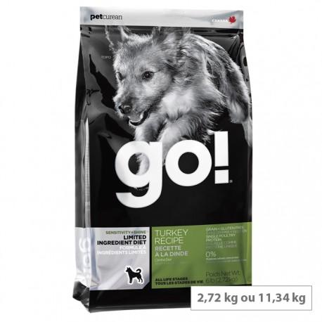 Croquettes Go chien Dinde Sans Céréales