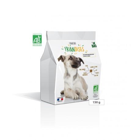 Gourmandises bio pour chiens FRIANDISES Canichef