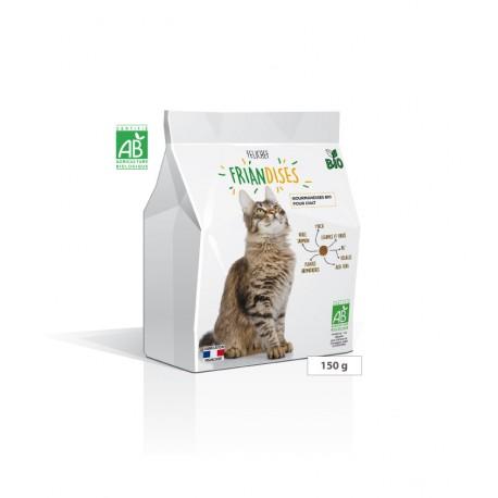 Gourmandises bio pour chats FRIANDISES Felichef