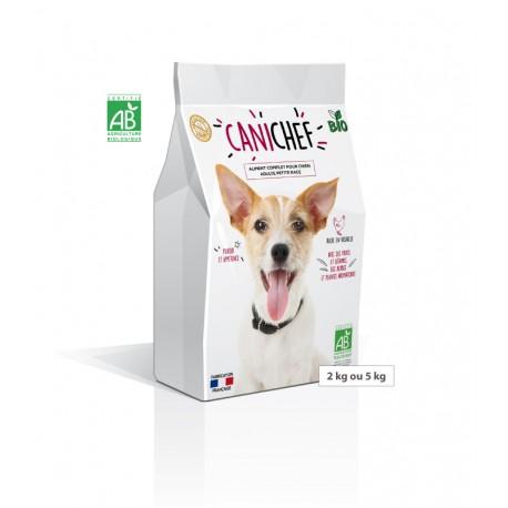 Aliment complet pour chien adulte petite race CANICHEF