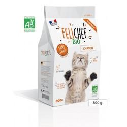 Aliment complet sans céréales pour chaton FELICHEF