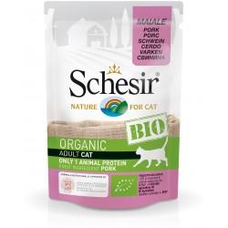 SCHESIR Sachet Fraicheur Chats BIO - Porc