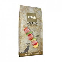 Croquettes ENOVA Chiens adultes - Mono Protéine - Poulet 12 kg