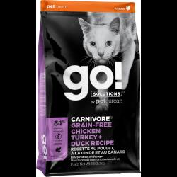 Croquettes chat sans céréales Go