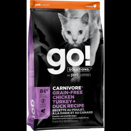 Croquettes chat sans céréales Go Natural