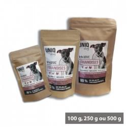 Friandises chien toutes tailles à la volaille UNIQ Dog