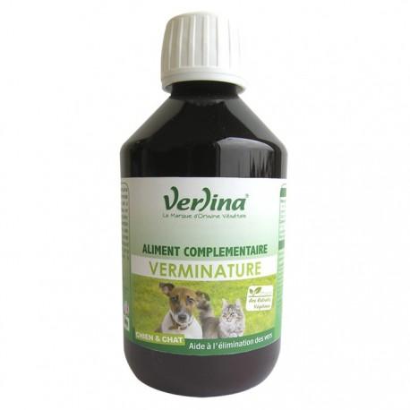 Verminature-Aliment complémentaire liquide chien chat
