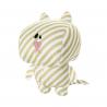Jouet peluche striped star chat