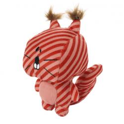 Jouet peluche striped star ecureuil