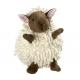 Jouet peluche snugly mouton blanc