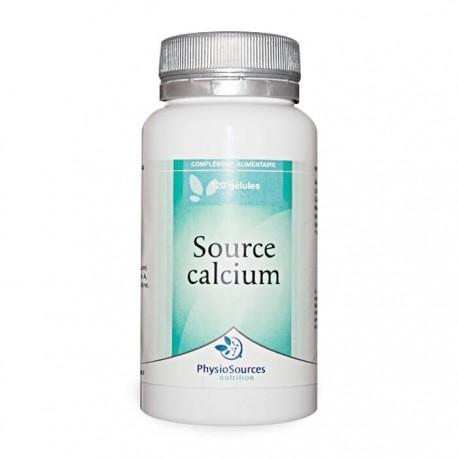 Source Calcium Complément alimentaire Physio Sources