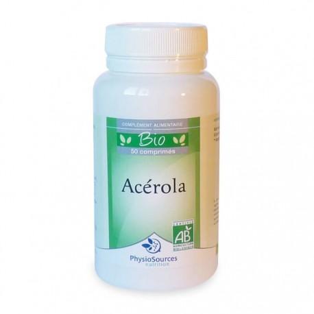 Acérola Bio Complément alimentaire Physio Sources