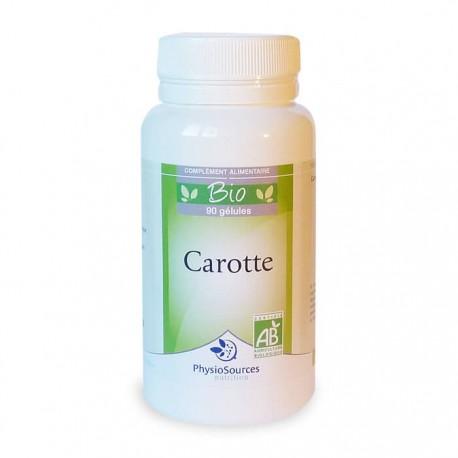 Carotte Bio Complément Alimentaire Physio Sources