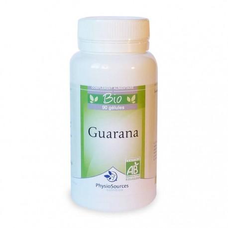 Guarana Bio Complément alimentaire Physio Sources