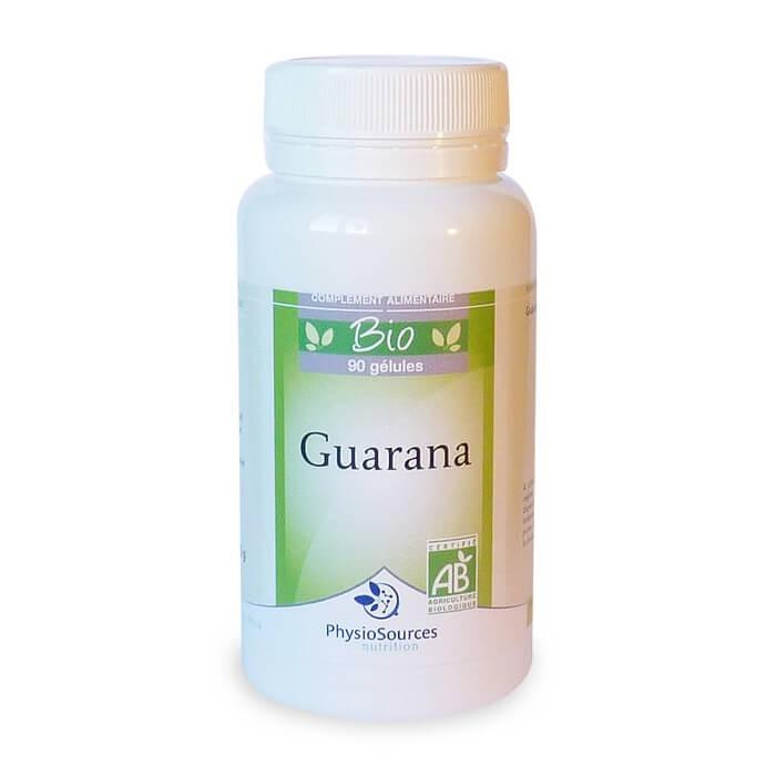 Guarana Bio Complément alimentaire maigrir Physio Sources