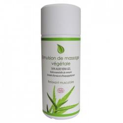 Émulsion de massage végétale bio Physio Sources