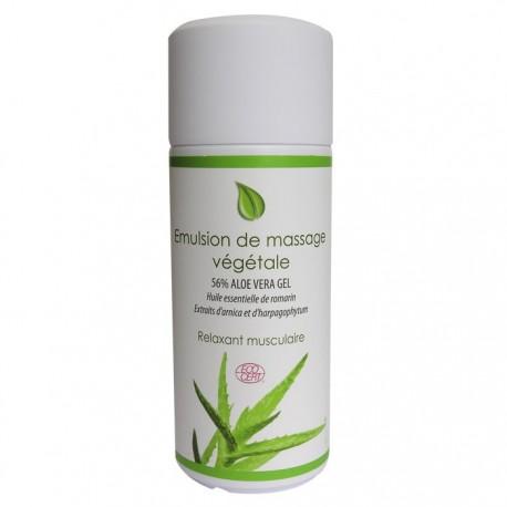 Émulsion de massage végétale bio Physiosources
