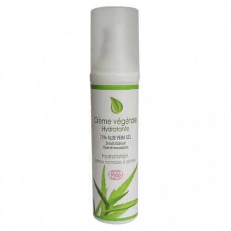 Crème végétale hydratante bio Physiosources