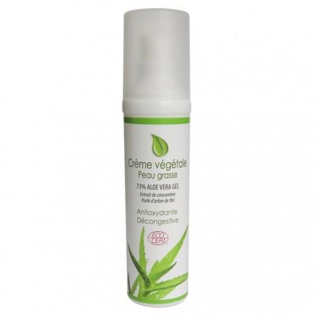 Crème végétale peau grasse bio Physiosources