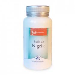 Huile de Nigelle Complément Alimentaire Physio Sources
