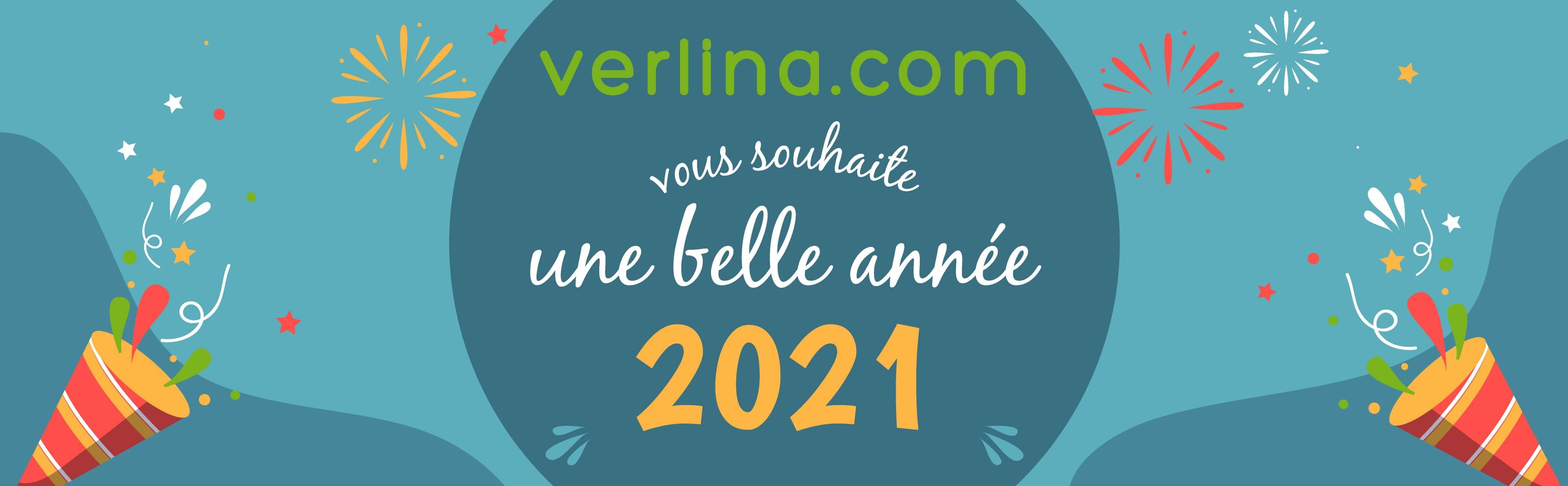 Verlina vous souhaite une belle année 2021