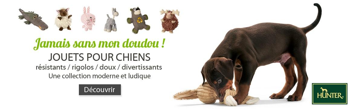 Jouets, peluches ultra résistantes pour chiens - Hunter