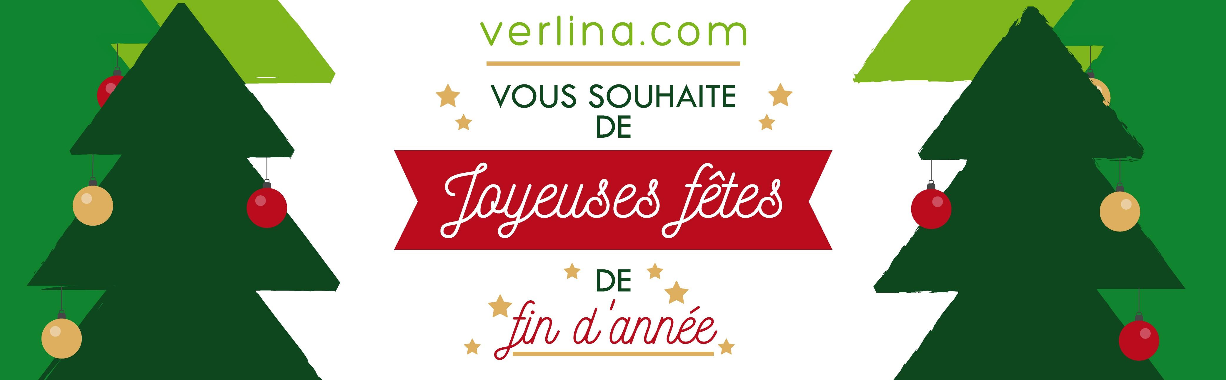 Verlina.com vous souhaite de joyeuses fêtes de fin d'année