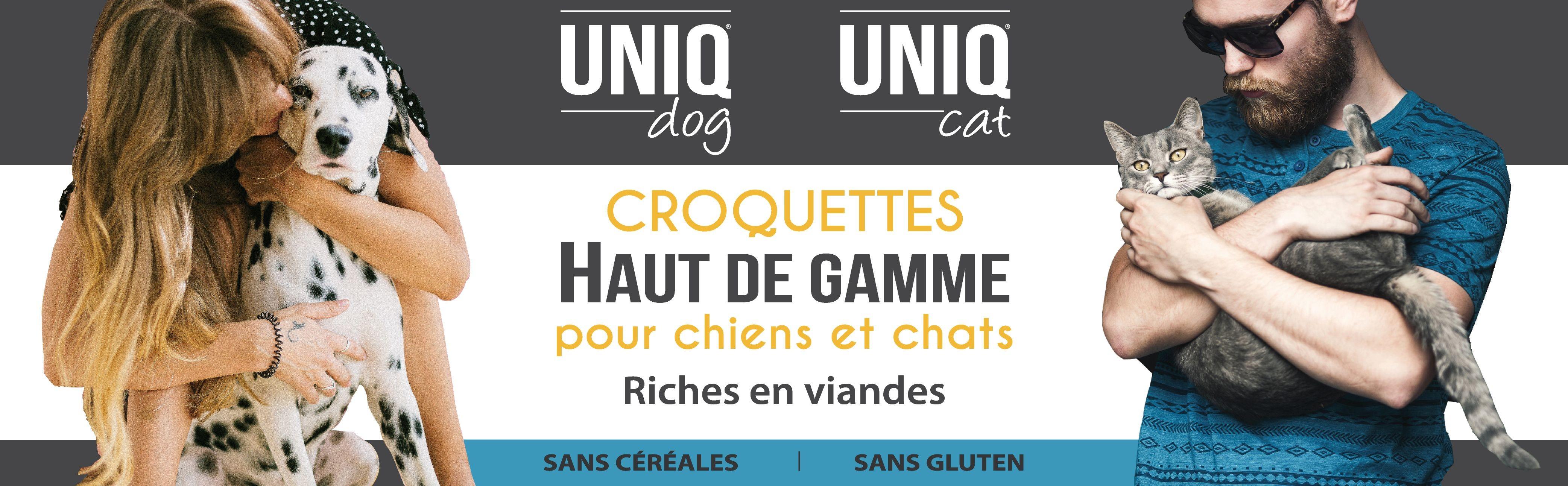 Croquettes haut de gamme pour chiens et chats sans céréales