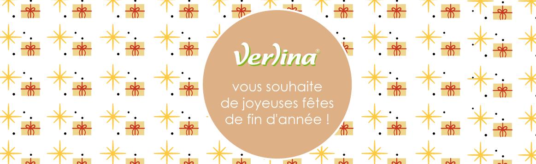 Verlina vous souhaite de joyeuses fêtes de fin d'année !