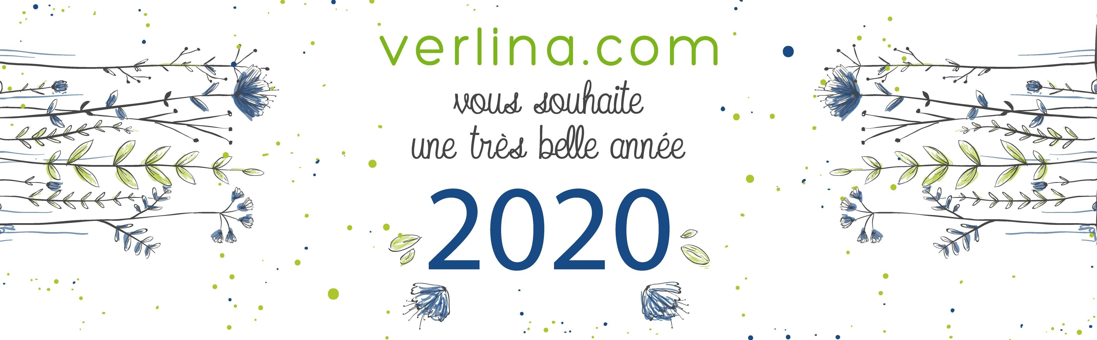 Verlina vous souhaite une très belle année 2020