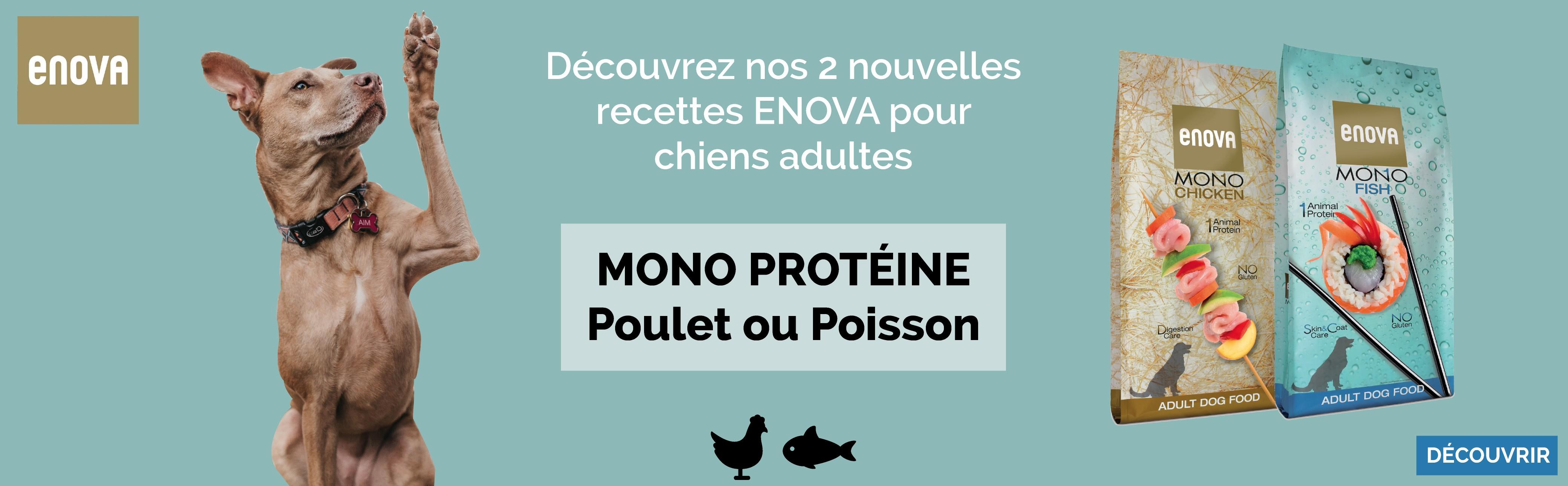 Croquettes ENOVA chiens - Mono protéine