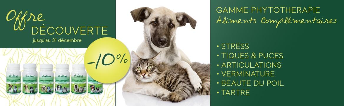 Aliments complémentaires pour chiens et chats