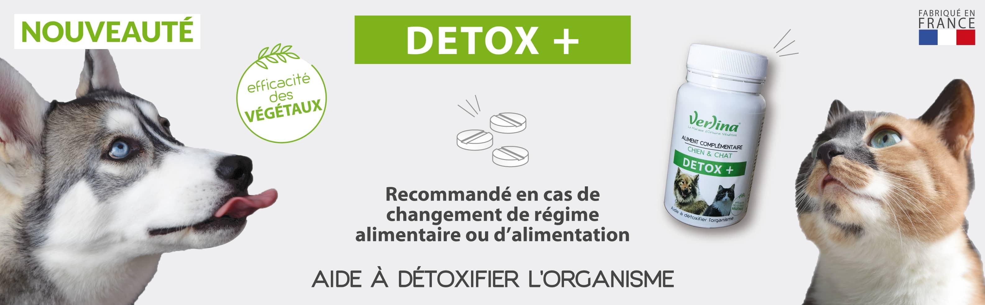 Nouveauté : DETOX + aide à détoxifier l'organisme